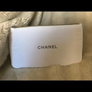 Chanel cosmetic case in cotton